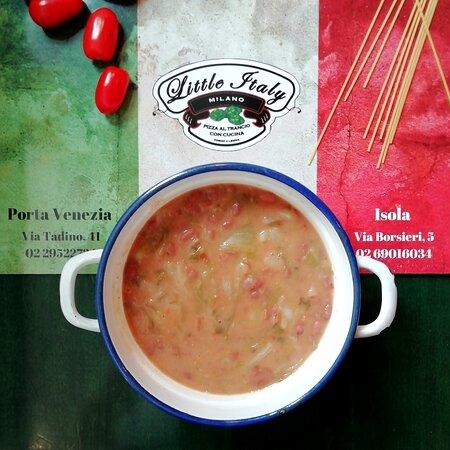 Le Zuppe preparate con ingredienti di stagione che ci accompagnano per tutta la stagione fredda