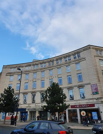 Great architecture in Liverpool Buisness District
