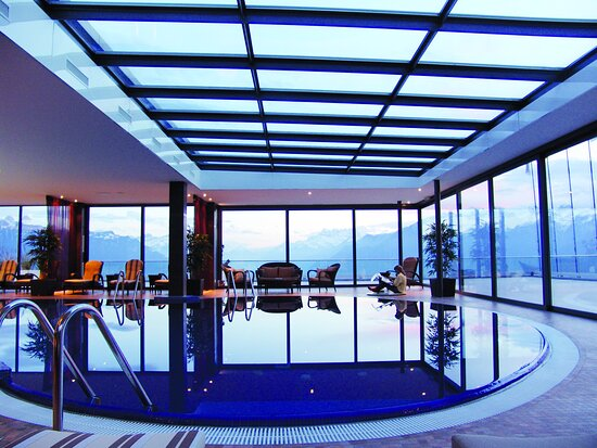 Foto de Le Mirador Resort & Spa, Mont Pelerin: Junior Suite Prestige - Tripadvisor