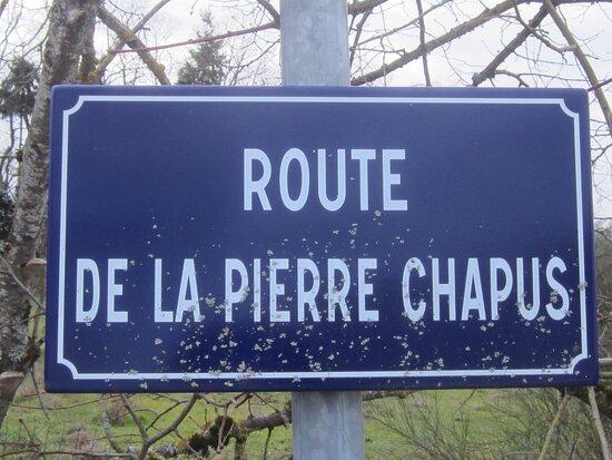 Dolmen De La Pierre Chaput