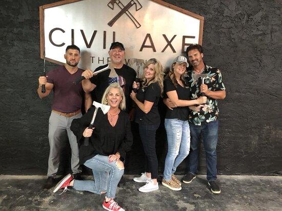 Civil Axe Throwing - Tampa