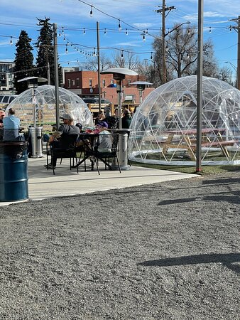 Enjoy the yard space or a heated igloo