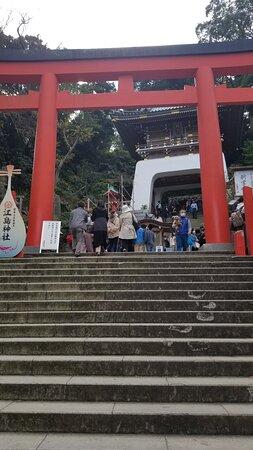 江島神社 辺津宮 の入り口