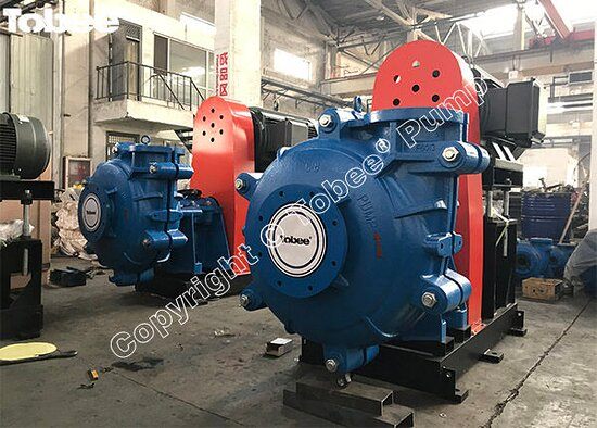 China: Tobee® 8x6 EE AH slurry pumps, 6x4 DD AH slurry pumps, 100RV-SP vertical slurry pumps loaded in one 40' container for shipping to Russia Email: Sales7@tobeepump.com Web: www.tobeepump.com | www.slurrypumpsupply.com | www.tobee.cc | www.hydroman.cn