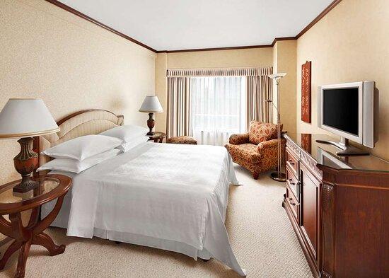 Deluxe Suite Bedroom at Hongqiao Jin Jiang Hotel