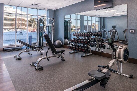 Stay energized in our 24-hour fitness center.