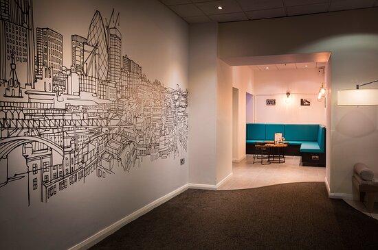 Thistle Barbican Hallway
