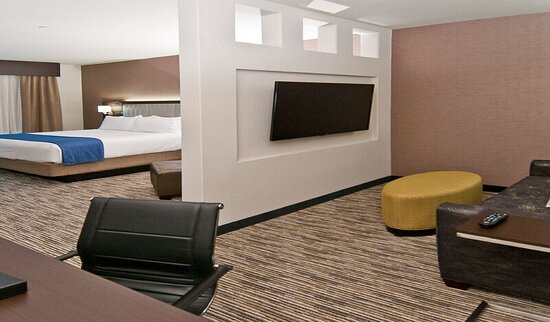 """Entertain with a 52"""" TV in this luxurious King Suite"""