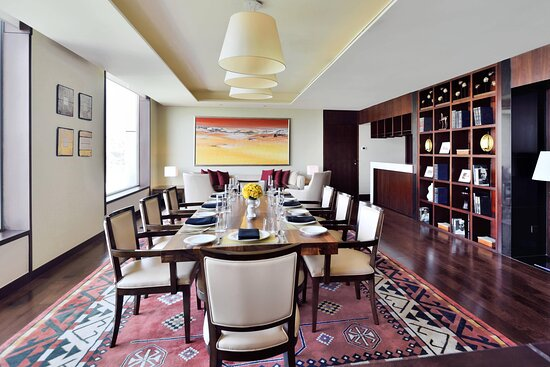 Presidential Suite Dining Area