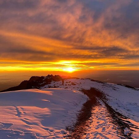Middle of ice and above the clouds! That's the Roof of Africa! What else are you dreaming of, if not Mount Kilimanjaro? #mountains #mtkilimanjarotanzania #mtkilimanjaro #kilimanjaro #tanzania #mountain #travel #trekking #instagram #love #volunteer #climbing #africa #eastafrica #tanzania🇹🇿 #tanzaniaunforgettable #tourism #tourist #tour #2021  #zanzibar  #uhurupeak #traveller #safe #world #russia #america #china  #trip #arusha