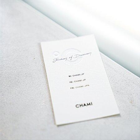 CHAMI Name card