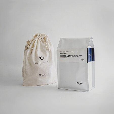 CHAMI Coffee Bean with free original cotton bag
