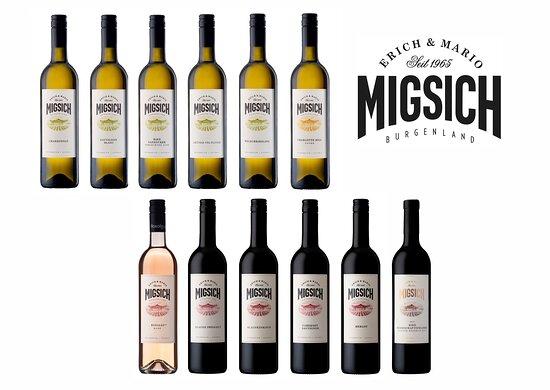 Viele verschiedene Weiß- und Rotweine warten auf deine Verkostung!