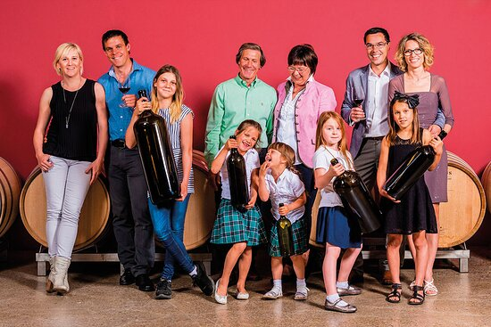Antau, Austria: Die Familie Migsich