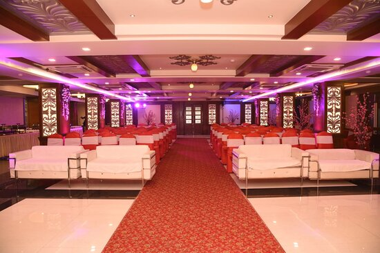 Tulip Hall for Corporate Meeting, Social Function Birthday Party , Anniversary, Engagement, Tilak , Kitty Party, Marriage Party Etc for 100 - 200 Person in one roof Ac Hall.
