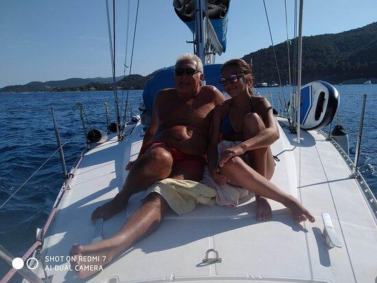 Corse-du-Sud, Francie: Moment partagé en intimité.