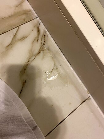 water on floor from ceiling dripping