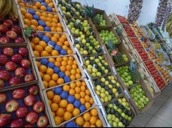 Ushuaia, Argentina: La mejor calidad de Frutas y Verduras Frescas!!
