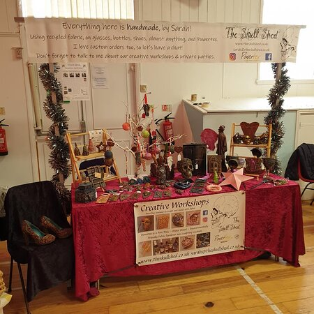 Chelmsford, UK: The Skull Shed, event stall