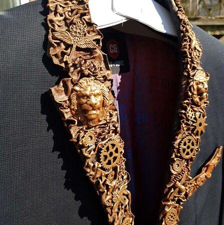 The Skull Shed, custom jacket