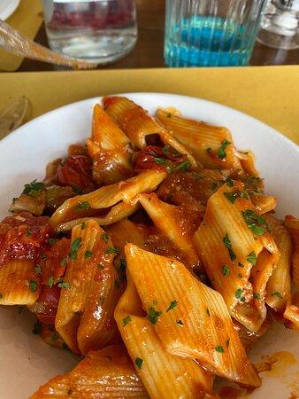 Tavarnuzze, Itália: Orata al cartoccio fantastica