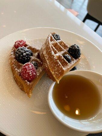 Waffles- Le Meridien Breakfast
