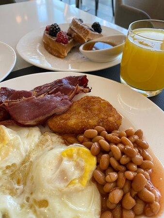 Best Buffet Breakfast- Le Meridien