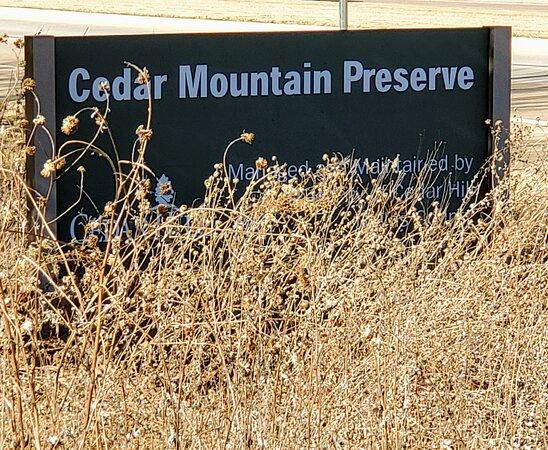 Cedar Mountain Nature Preserve