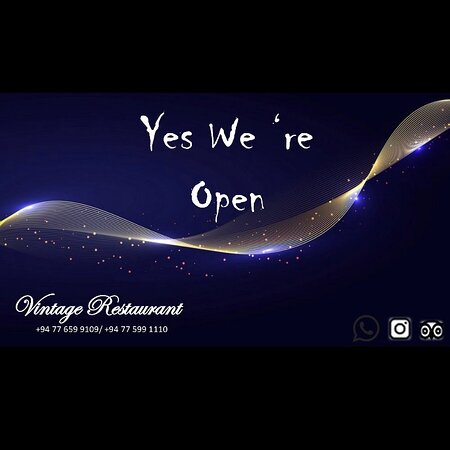 YOU'RE INVITED   Grand Re-opening  We bring the Best taste to you from our kitchen and we invite you to join us at the inauguration of our Restaurant on Thursday   Sincerely  The Vintage Team
