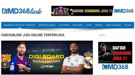 CMD368LINK situs judi online terpercaya yang menyediakan link alternatif cmd368 bandar judi bola di indonesia, daftar cmd368