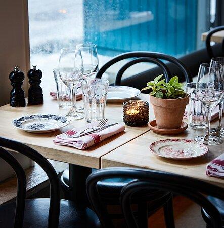 Open for dinner every Wednesday - Sunday