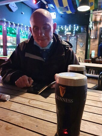 The Irish House Pub along Ranelagh Street.