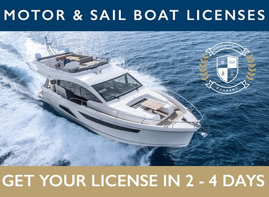 INA International Boat License