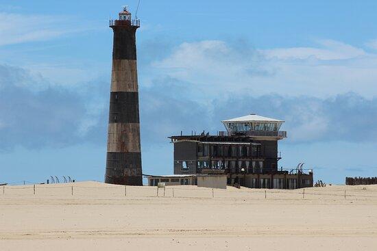 Sandwich Harbour Half Day 4x4 Excursion: Pelican Point Lighthouse