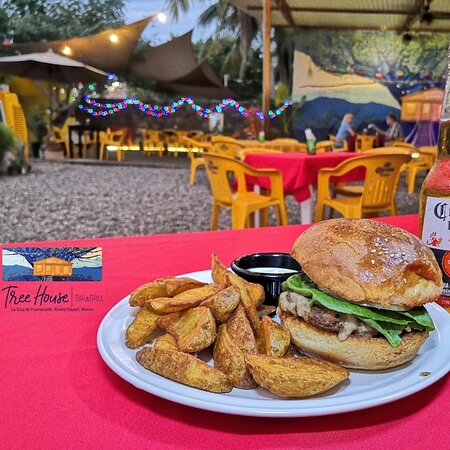 The Super Burger!!!  Come and Enjoy our Burguer Specials on Thursdays we open at 2 pm.  Live Music start at 5 pm The Availables Rock & Blues Band.