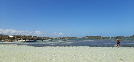 le sable et la mer...