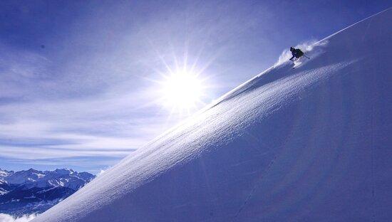 Ski de rando en Valais central