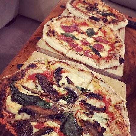 Amazing fresh authentic Italian pizzas. Scrummy!!