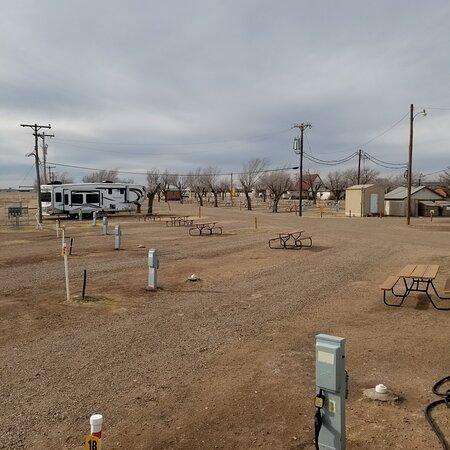 Amarillo Texas KOA, not a bad spot to stay bit very overpriced.