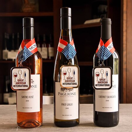 Harrow, Canada: Gold, Silver, and Bronze winners at the Great American International Wine Championship