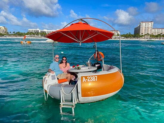 Our friendly crew invites you to board our beautiful catamaran as we sail down the west coast of the island
