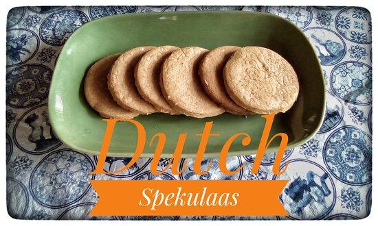Song, Thaimaa: Dutch Spekulaas Cookies