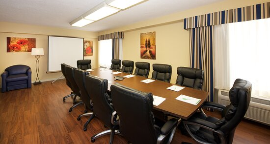 Host your next business meeting at our Executive Boardroom.