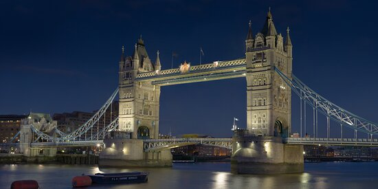View Over the Tower Bridge