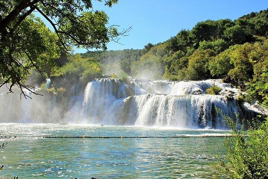Visite privée des cascades de Krka avec...