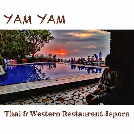 AM YAM Restaurant Jepara is OPEN again!!! Everyday Full service Nonstop from 8:00-22:00 (last order 21:00)  See you... Kiss(from far away) all YAM YAM staff 😘