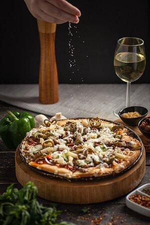 Vegan Spicey Pizza