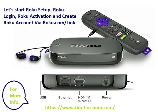 United States: Roku is an entertaining device that can be used for a number of purposes. But before going to use it, you need to know about Roku login, Roku setup, Roku activation, Roku link, and create Roku account from Roku.com/link. https://www.tim-tim-bum.com/