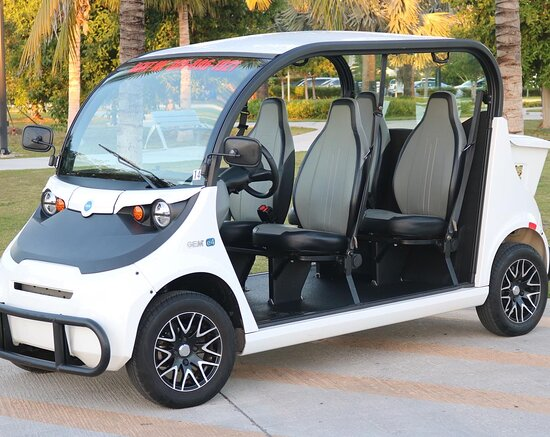 Enjoy one of our 4 Seat Electric Cars!