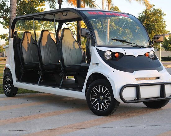 Enjoy one of our 6 Seat Electric Cars!